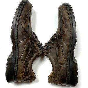 Ecco Mens 44 Leather Lace Up Oxfords Dress SHOES